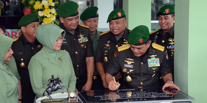 Televisi Dan Radio Diponegoro Menunjang Transformasi TNI AD