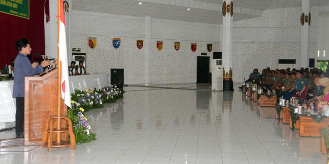 Peringatan Isra' Mi'raj Tingkatkan Motivasi Juang Prajurit