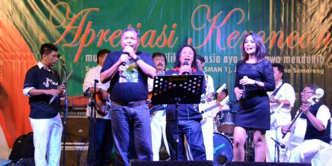 Kodam IV/Diponegoro Membawa Musik Keroncong Mendunia