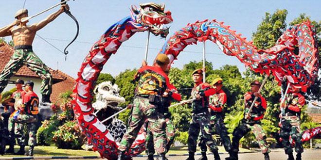 Liong Naga Doreng Arhanudse -15, Sarana Binter