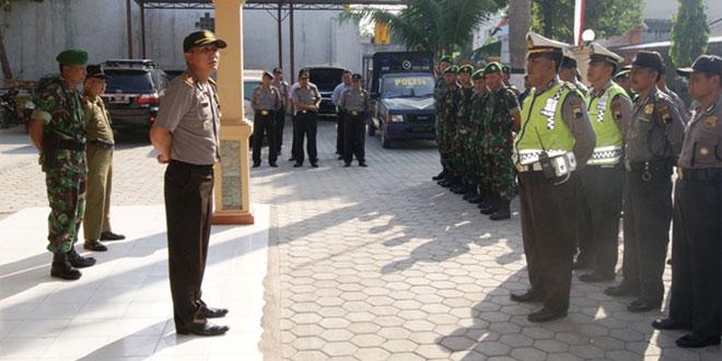 Patroli  Gabungan Menjaga Kamtibmas Wilayah Kec. Cepu