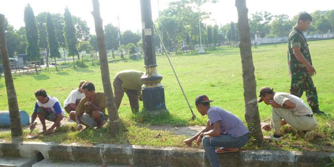 Karya Bhakti Koramil 21/Tegal