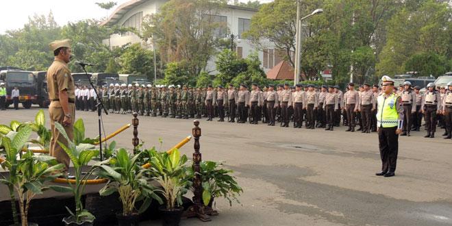 Apel Gelar Pasukan Operasi Ketupat Candi Kota Surakarta