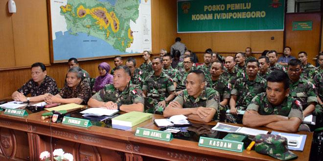 TNI Siap Jaga Netralitas Dan Amankan Pilpres 2014
