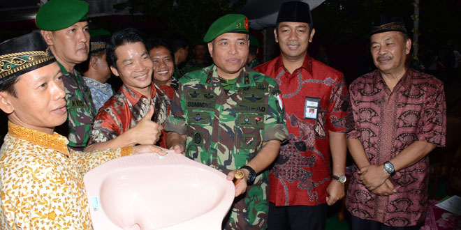 Program Jambaninsasi Kodam IV/Diponegoro Raih Rekor MURI