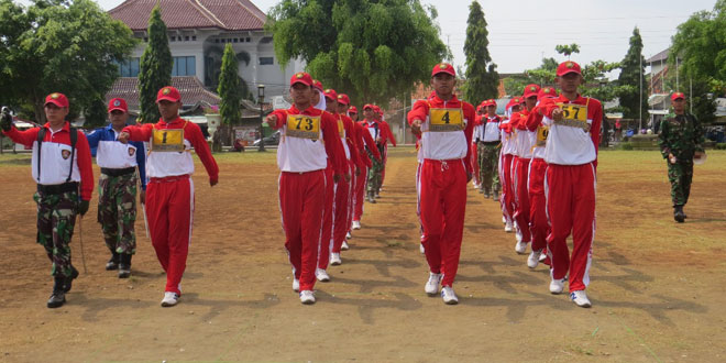 Pelatihan Paskibraka Tingkat Kabupaten Brebes