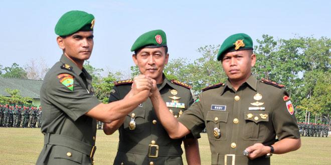 Serah Terima Jabatan Komandan Yonif 408/Suhbrastha