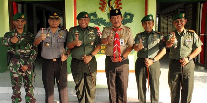 Pangdam IV/Diponegoro Kunjungan Kerja ke Sragen