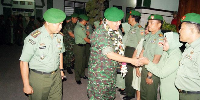 Kodim 0721/Blora Menerima  Kunjungan Kerja Pangdam IV/Diponegoro