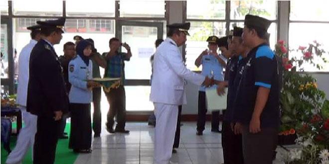 Dandim 0725/Sragen Hadiri Pemberian Remisi di LP Kelas II Sragen