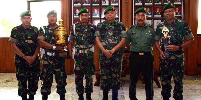 Kodam IV/Diponegoro Juara Tenis Piala Gubernur