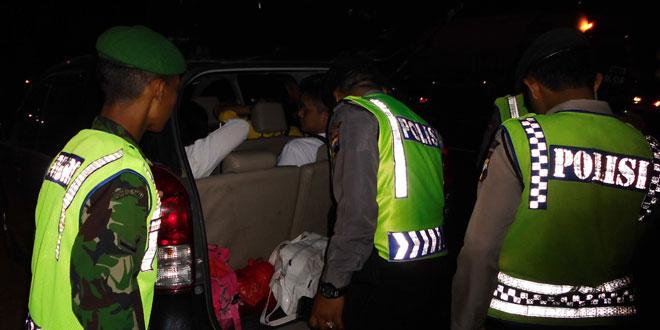Kodim 0716/Demak bersama Polres Demak Intensifkan Razia Narkoba di Malam Hari