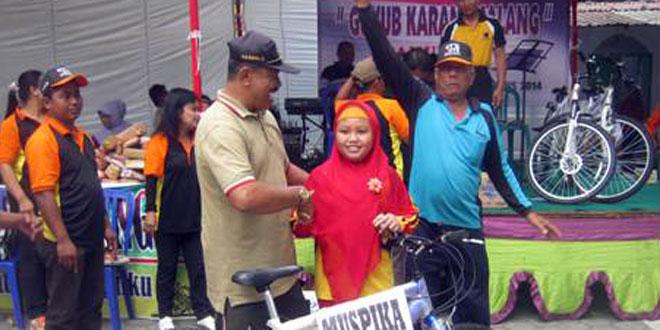Danramil-02/Karangmalang Jalan Santai Bersama Guyub Karangmalang