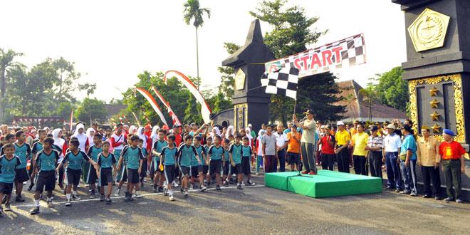 Danrem 071/WK Resmikan Pintu Gerbang Museum Pangsar Soedirman Rembang