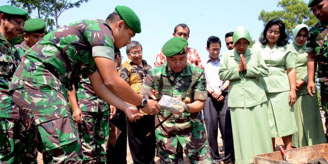 Peletakan Batu Pertama Masjid Al Firdaus  Kodam IV/Diponegoro