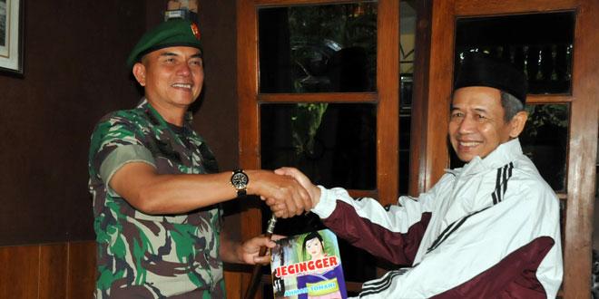 Danrem 071/WK Silaturahmi ke Budayawan Banyumas