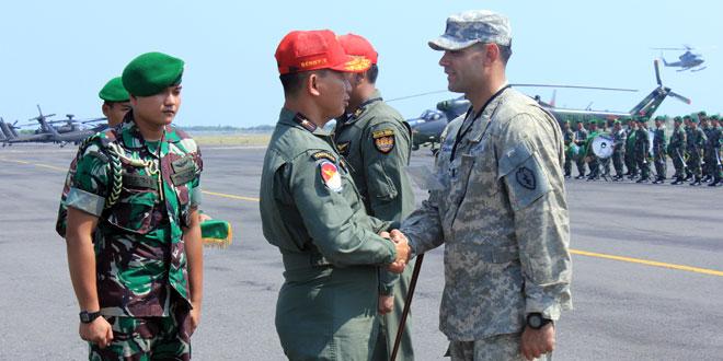 TNI AD Dan US Army Laksanakan Latihan Bersama Garuda Shield-8/2014 di Semarang