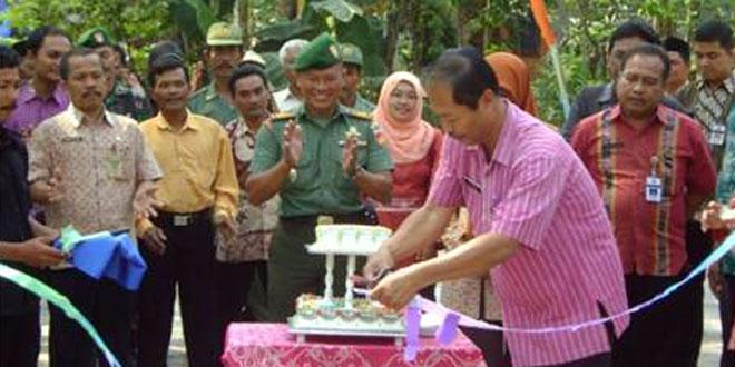 Penutupan Karya Bhakti TNI Membangun Desa