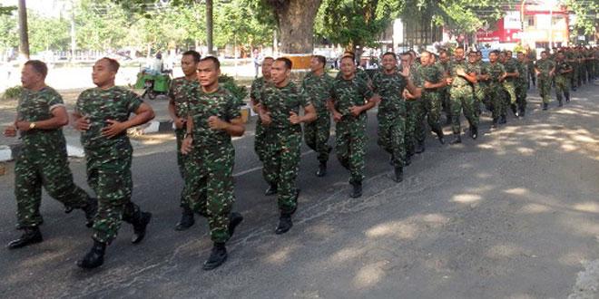 Minggu Militer di Kodim 0717/Purwodadi