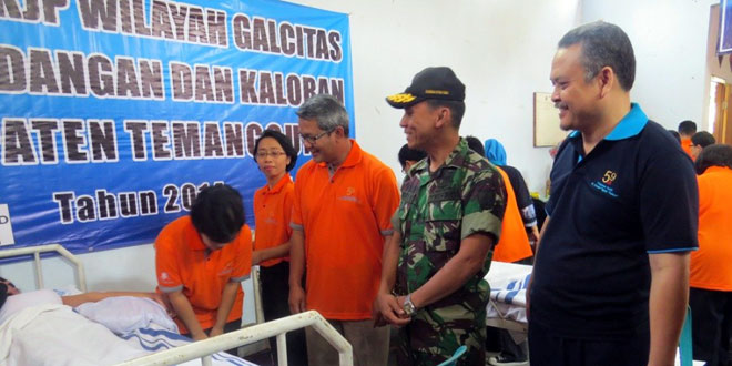 Program KB Kerjasama Kodim 0706/temanggung Dengan RSK Ngesti Waluyo