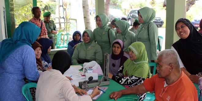 Pengobatan Gratis di Klinik Pratama-36 Kodim Batang