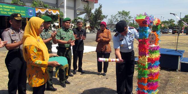 Upacara Pembukaan TMMD Sengkuyung Tahab II Tahun 2014
