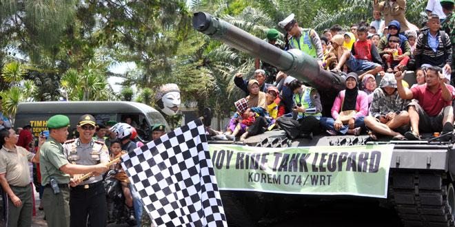 Pawai Alutsista TNI-AD