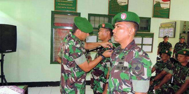 Pembekalan Teritorial Bintara dan Tamtama Baru Korem 074/Warastratama
