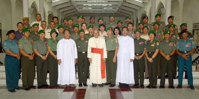 Disbinlatad Selenggarakan Retret Bagi Prajurit dan PNS TNI Serta POLRI