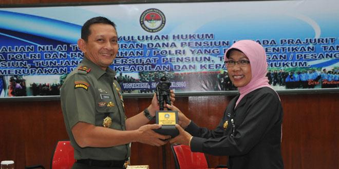 Korem 072/Pamungkas Laksanakan Penyuluhan Hukum dan Permenhan No. 13 TH 2011