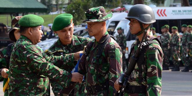 Lomba Ton Tangkas Sarana Evaluasi Kemampuan Militer Prajurit