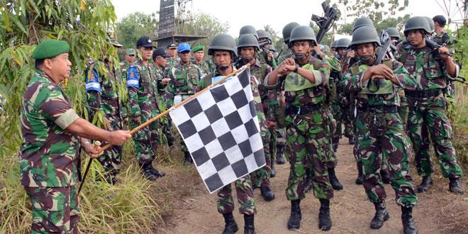 Batalyon Zipur 4/TK Juara Lomba Peleton Tangkas Kodam IV/Diponegoro