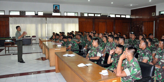 Korem 072/Pamungkas Siapkan Personel Untuk Serbuan Teritorial