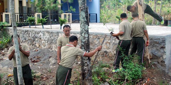 Kodam IV/Diponegoro Laksanakan Gerakan Mencabut Paku Secara Serentak