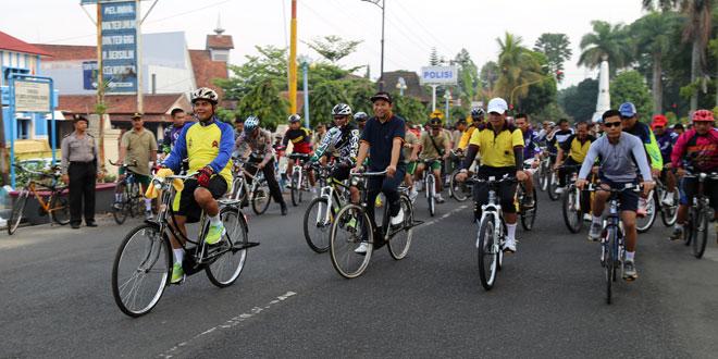 Bersepeda, Sehat dan Hemat Energi