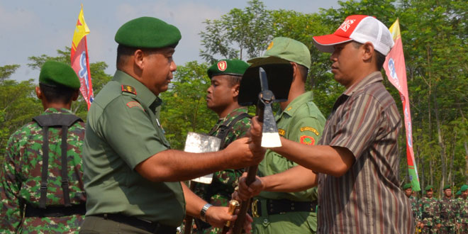 Karya Bhakti TNI Bentuk Nyata Tingkatkan Kesejahteraan Masyarakat