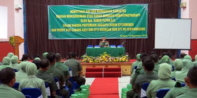 Danrem 071/Wijaya Kusuma Berikan Pembekalan Proxy War