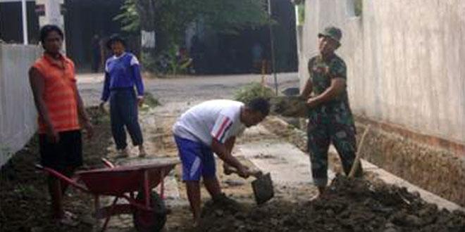 Pengurukan Jalan Desa Pilangsari Kec. Ngrampal