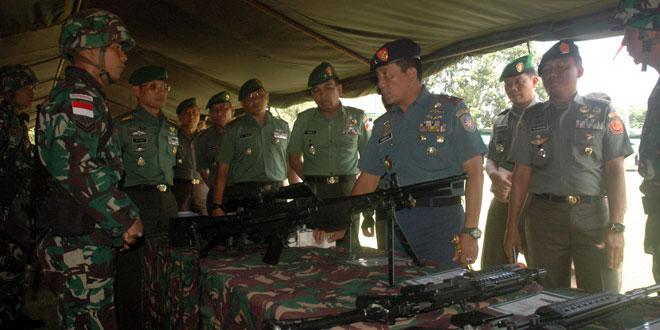 450 Prajurit Yonif 400/Raider Siap Menjaga Wilayah Perbatasan RI-PNG