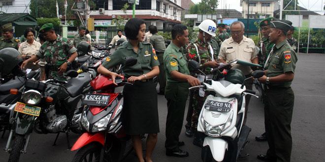 TNI Harus Menjadi Contoh Dalam Berlalu lintas