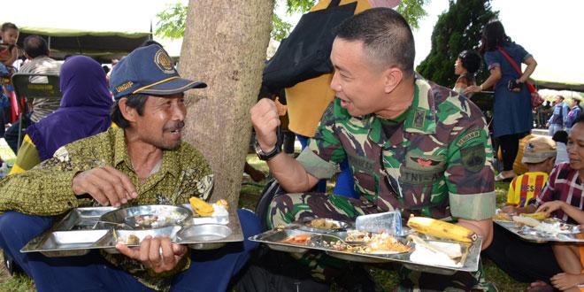 Hari Juang Kartika Wujud Kebersamaan TNI Rakyat