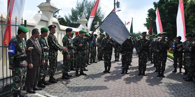 Danrem 072/PMK Lepas Peleton Beranting Yudha Wastu Pramuka