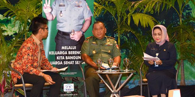 "Pangdam IV/Diponegoro Narasumber ""Semarak KB Jateng"" di TVRI"