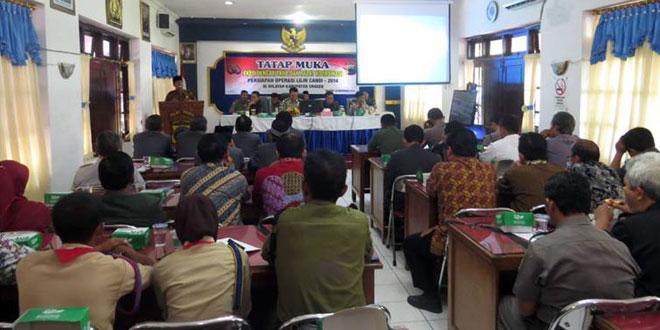 Rapat Koordinasi Persiapan Operasi Lilin Candi Tahun 2014