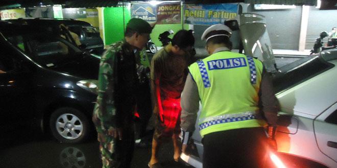 Kodim 0735/Surakarta Laksanakan Patroli Gabungan