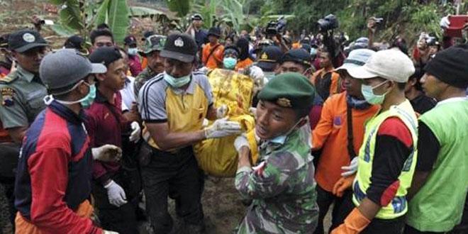 Korban Tewas Longsor Banjarnegara Jadi 90 Orang, 18 Masih Hilang