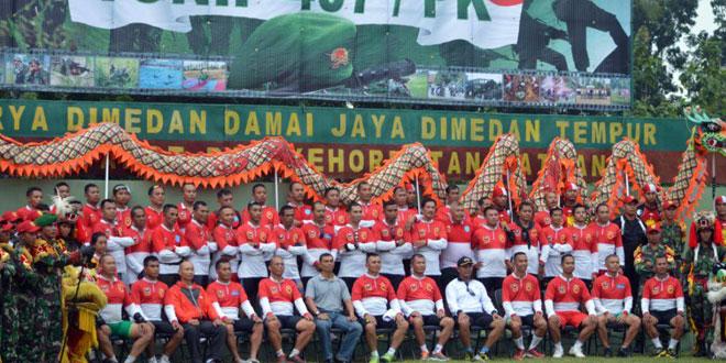 Tim Touring Gowes Korem 071/WK Tiba di Tegal
