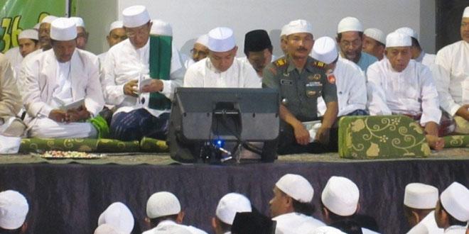 Danramil 01/Tegal Barat Menghadiri Undangan Maulud Nabi Muhammad SAW di Ponpes Alhijrah