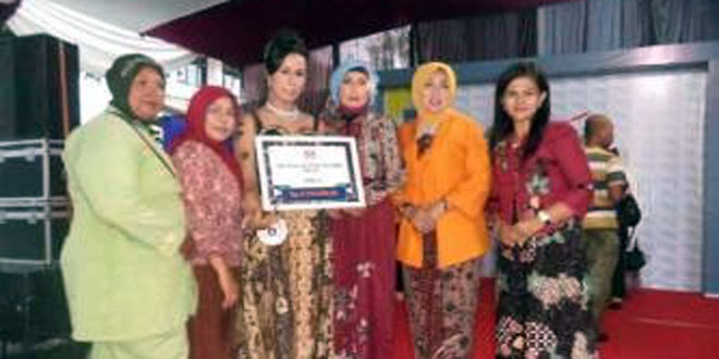 Persit KCK Cab XXIX Kodim 0709/KBM Raih Juara 2 Lomba Design Batik