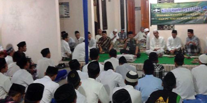 Dandim 0709/Kebumen Memberikan Ceramah Kebangsaan di Ponpes Al Ikhlas Wonosoyo